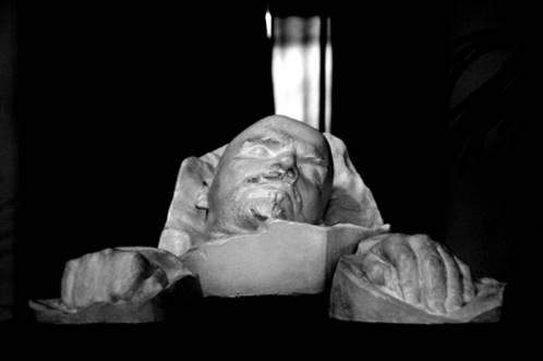 Sergey Merkurov, Máscara mortuária de Lenin, 1924